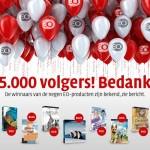 25000 volgers