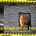 help klaas uit de brand