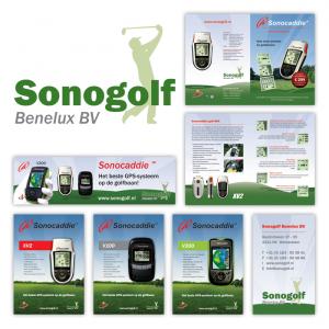 Huisstijl, drukwerk en advertenties Sonogolf